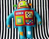 Blue Robot Oogabooga Plush Toy