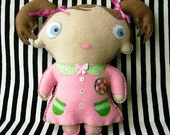 RESERVED - Pink Dolly Oogabooga Plush Toy