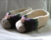 Felted Slippers Women's Size 5-8.5