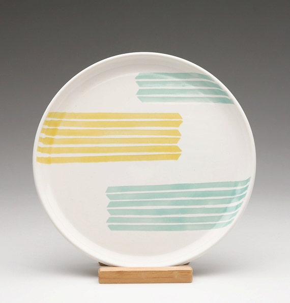 Striped Arrow Plate SALE