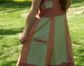 Seminole Patchwork Corset back sundress