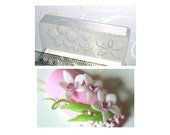 Kawaii Flexible Orchid Flower Mold (for polymer clay, resin clay, paper clay, nail art)