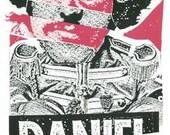 Daniel Johnston Screen Print Concert Poster by Print Mafia