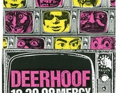 Deerhoof Screen Print Concert Poster by Print Mafia