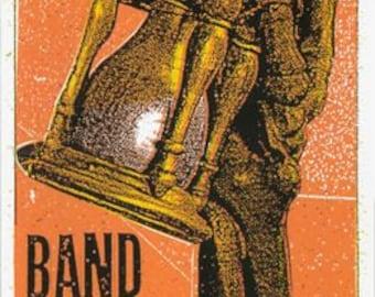 Band of Horses Screen Print Concert Poster by Print Maifa