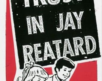 Jay Reatard Screen Print Concert  Poster by Print Mafia