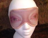 Sleep Mask FREAK Them Out  Damaged Corneas Eyes Blindfold