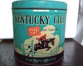 Vintage Kentucky Club Tin