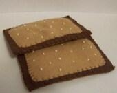 SALE 50% off -  2 Set Chocolate Poptarts - Toaster Pastries