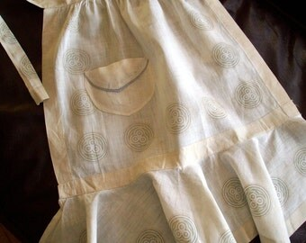 Vintage 1930s Childs Apron