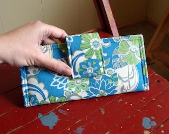 Retro Floral Wallet