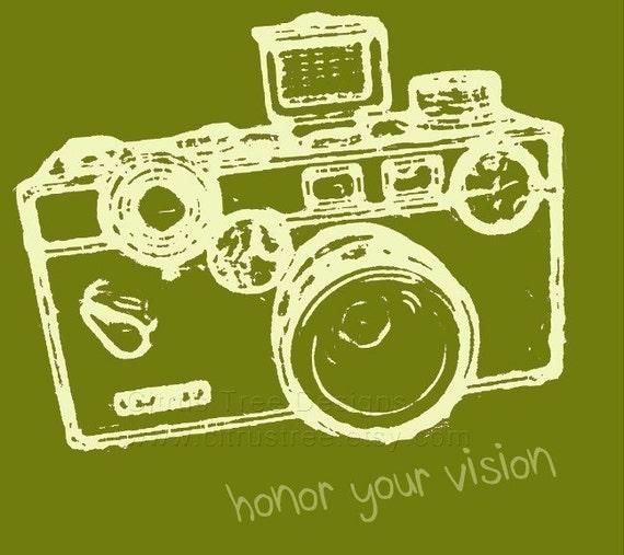 VINTAGE ARGUS Honor Your Vision - Original Illustration Fine Art Print - Signed and Dated --BUY 2 GET 1 FREE--