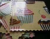 Cute Cupcake Coasters - Set of Six