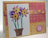 Flowers for Mom handmade Mother's Day greeting card