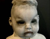 PEEK-A-BOO Lil Creepies OOAK Gothic Horror ART DOLL (reserved)
