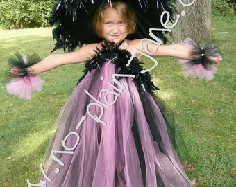 Custom Made Pink and Black Glamour Witch  YOU CHOOSE THE SIZE