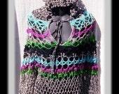 BOHO TUNIC Hoody Crochet Pattern