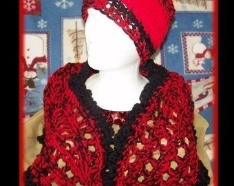 Mobius Scarf and HAT Crochet Pattern Set