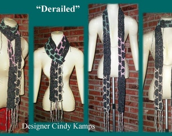 DERAILED Scarf Pattern by Cindy Kamps