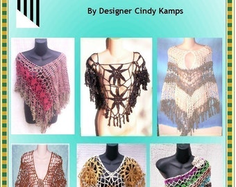 15 PONCHO Patterns with Panache By Cindy Kamps