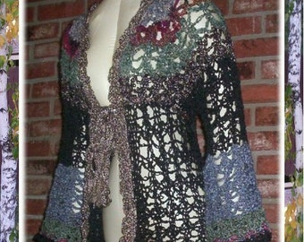 FRENCH QUARTER Jacket Sweater Pattern by Cindy Kamps