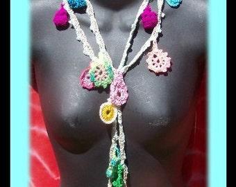 CHARMED Crochet Necklace Pattern