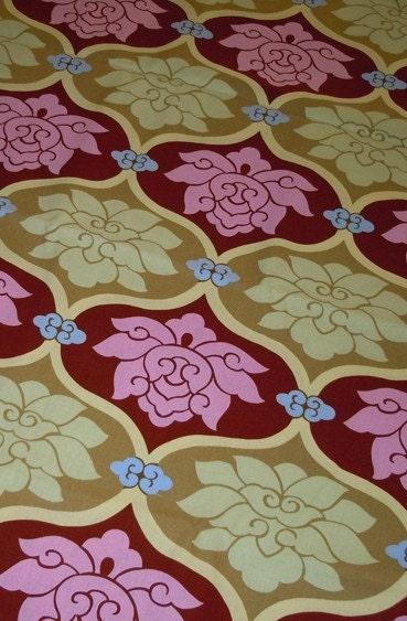 butler sunbloom home decor fabric oop lotus