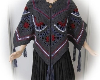 Winterdreams Caplet Crochet Pattern PDF