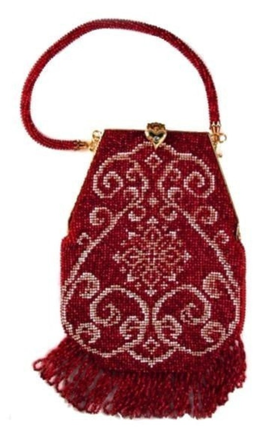 Angie Crochet Beaded Purse Pattern PDF Download