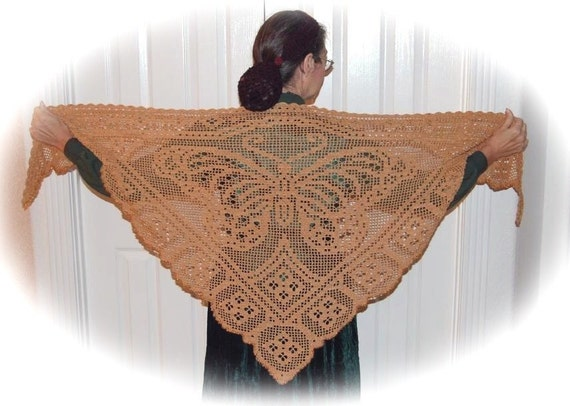 Viceroy Butterfly Shawl Pattern