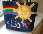 Busy Little Sunshine Tote