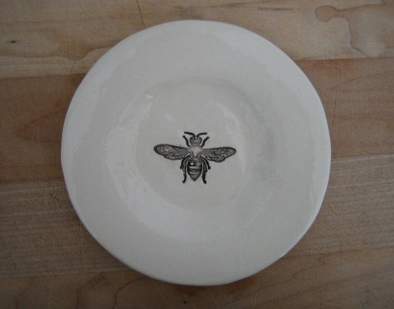 little bee dish.