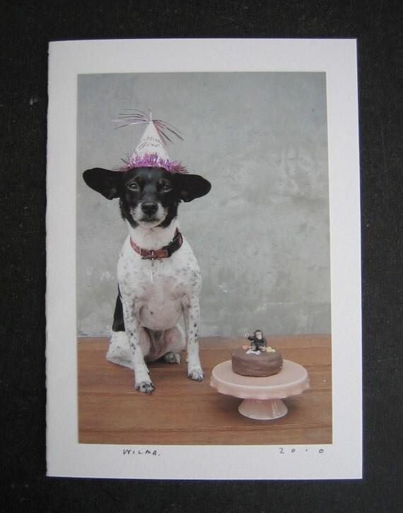 WILMA happy birthday card.