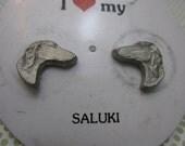 Saluki Earrings Dog Lover Gift