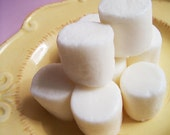 Vanilla Marshmallow Soap Set - Mallow, Food Soap, Camping, Smore, Dessert Soap, Sweet Soap, Hot Cocoa, Kids Bath, Teen Gift, Cute Soap, Soap