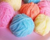 Yarn Soap Set - Sewing Soap, Knitting Gift, Knitters Soap, Crafter Soap, Seamstress Gift, Gift For Her, Mother's Day Soap, Ball of Yarn Soap