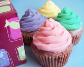 Sweet Treat Cupcake Boxed Set---18 ounces of soap total