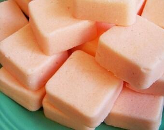 Solid Sugar Scrub Soap Orange Tangerine Set - Soap Scrub, Oranges, Fruit Soap, Soap Favors, Gift Best Friend, Mens Gift, Fiance Gift, Vegan