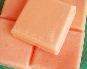 Orange Tangerine Solid Sugar Scrub Soap Bar