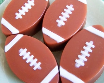 Chocolate Football Soap - Kids Soap, Soap Favors, Sports, Gift For Him, Boys Soap, Party Favors, Birthday, NFL, Novelty Soap, Gift For Him