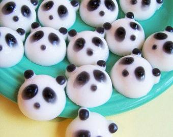 Panda Bear Soap Set - Panda Soap, Bear Soap, Lime Soap, Animal Soap, Mini Set, Party Favor, Kids Soap, Mini Soap, Kawaii Soap, Children Bath