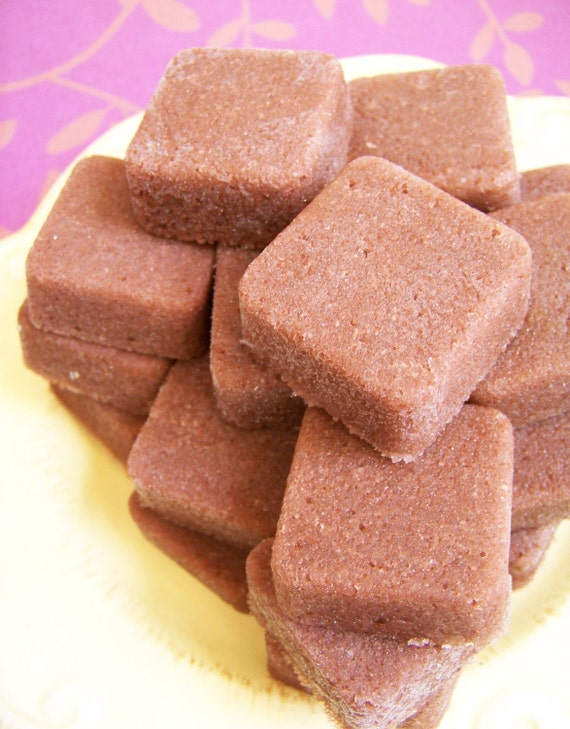 Solid Sugar Scrub Soap Hot Chocolate Set - Soap Scrub, Hot Cocoa Soap, Party Favors, Sugar Scrub Favor, Exfoliating, Solid Scrub, Chocolate