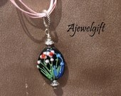 Flowers of Glass Pendant