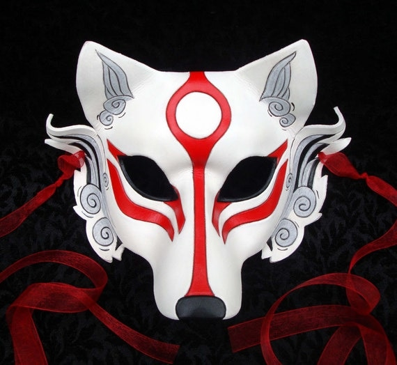 Japanese wolf mask - photo#6