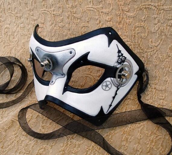 Time Bandit V2... original mixed media handmade steampunk mask
