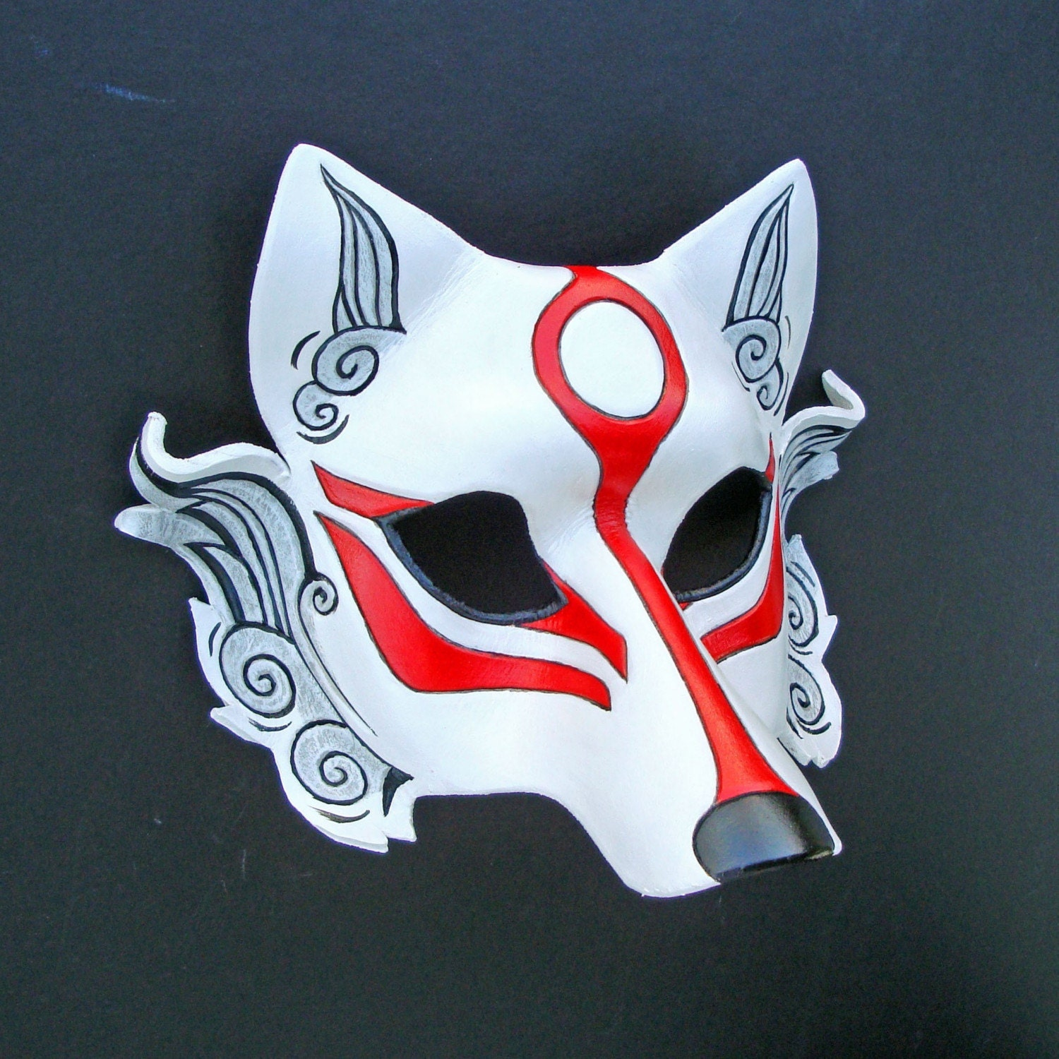 Japanese wolf mask - photo#12