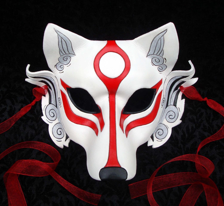 Japanese wolf mask