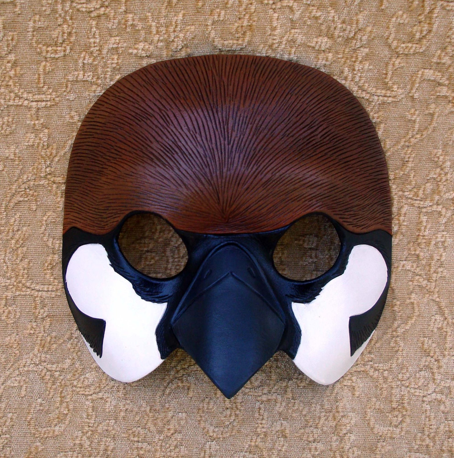 Mask: Sparrow Mask... Handmade Limited Edition Leather Mask