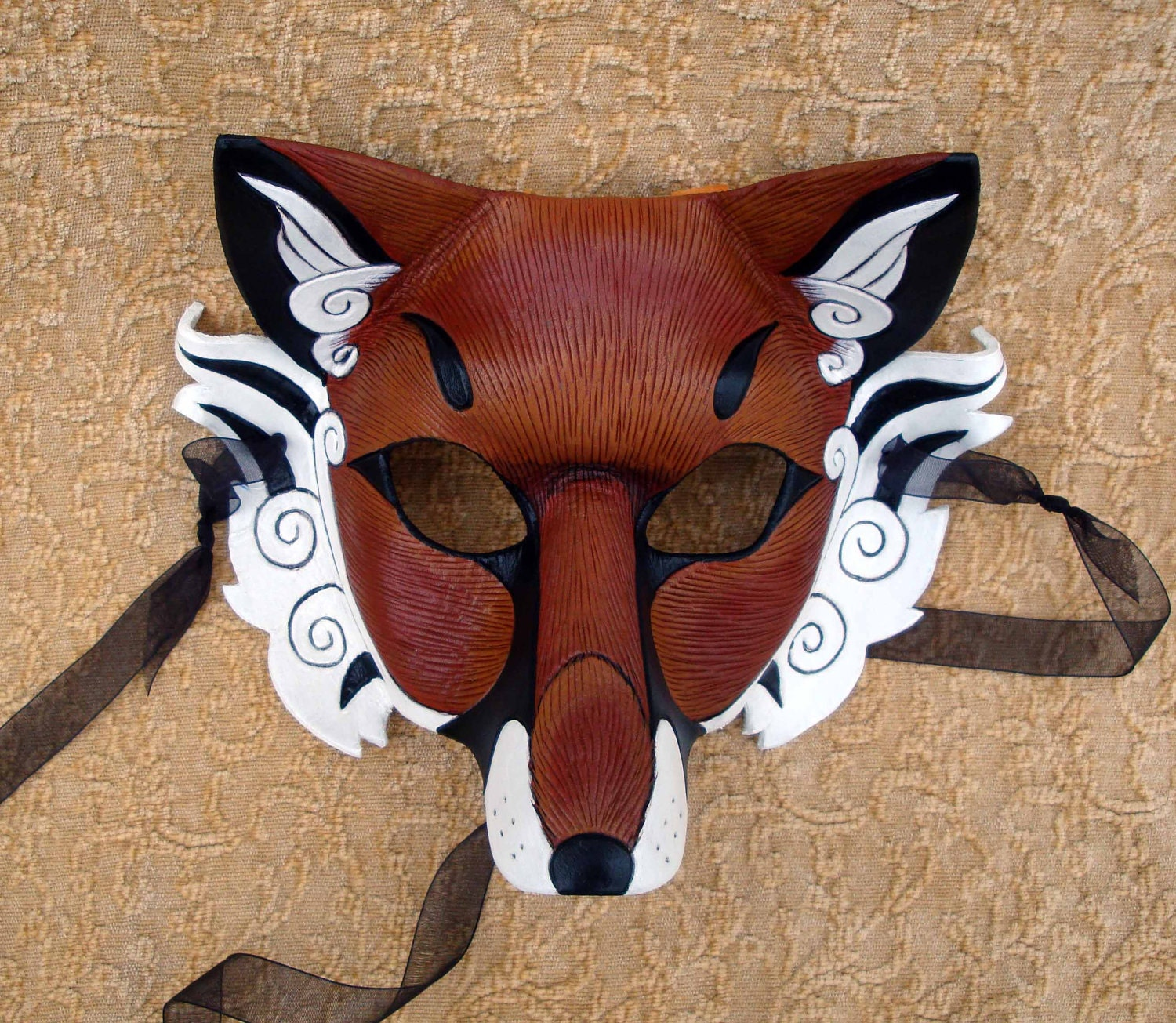 Pictures Of Japanese Wolf Mask Template Kidskunstfo