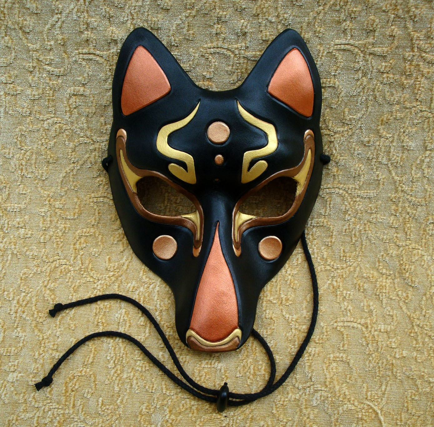 Japanese wolf mask - photo#26